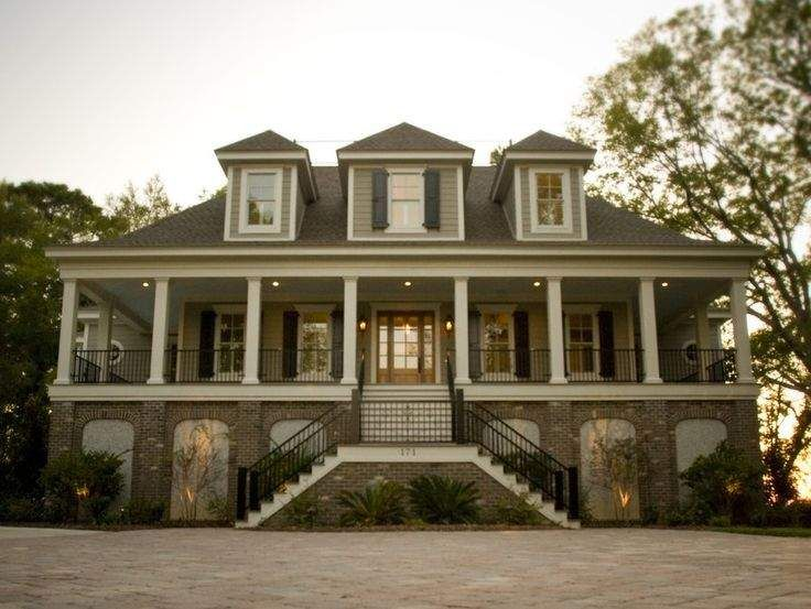 38 best images about southern living house plans on for Low country farmhouse plans