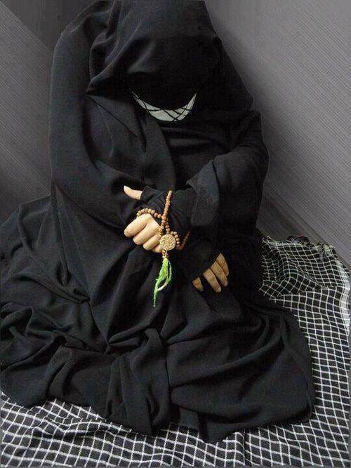 Исламская картинка печально