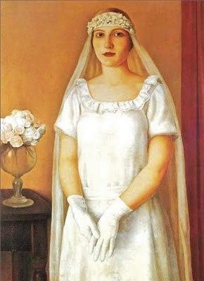 Antonio Donghi (Italian Neoclassical painter, 1897–1963) The Bride 1926