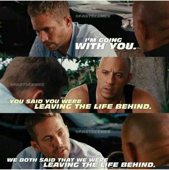 221 best Dom and Brian images on Pinterest | Vin diesel ...