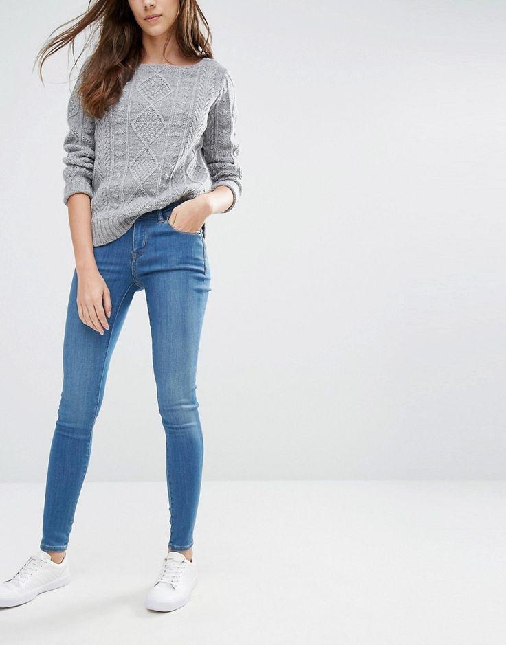 Image 1 ofJack Wills Fernham Mid Rise Superskinny Jeans