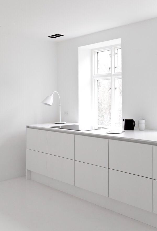 peppermags: Interior | Minimalist kitchen