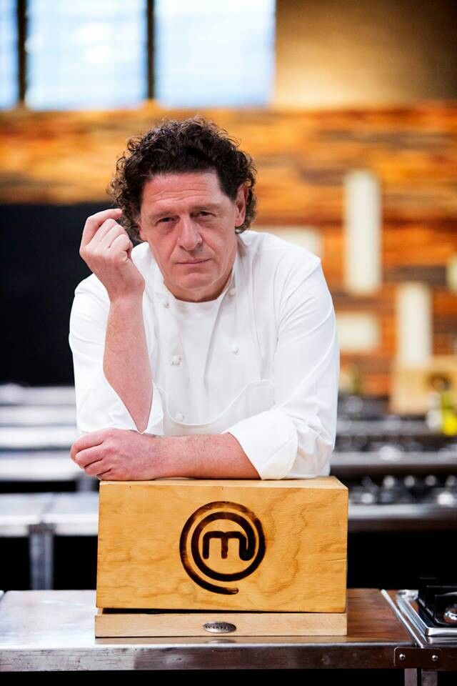 Marco Piere White on MasterChef Australia. Love everything about him♥♥