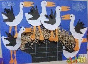 gólyák