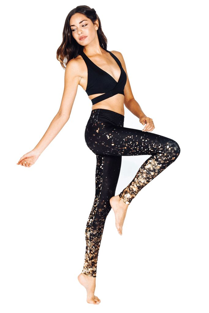 You Were Born to Shine! Standout in your next studio session with these fierce new leggings and flattering crop, perfect for yoga, pilates or barre. Women's Workout Clothes | Gym Clothes | Shop @ FitnessApparelExpress.com
