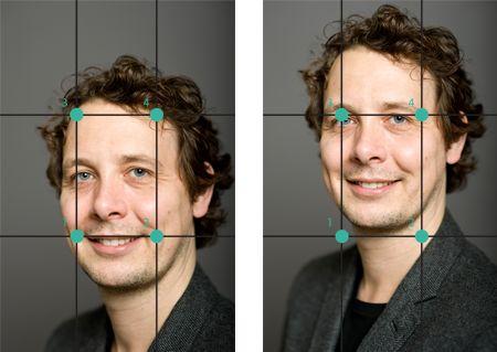 Zet bij een portretfoto de ogen op 2 hotspots'. Zo krijg je een sterker portret! #guldensnede #portretfotografie