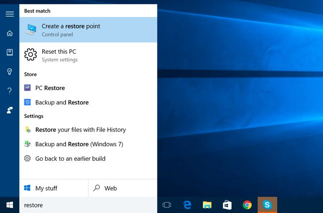 How to Enable System Restore (and Repair System Problems) on Windows 10