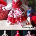 Rag doll – Baba Marta (Iva's Creations)