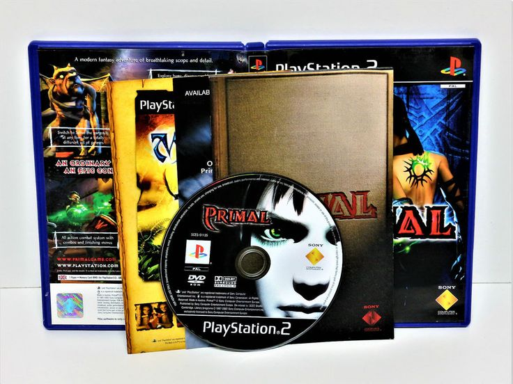 PLAYSTION 2 PRIMAL GAME PS1 PS2 PS3 PAL VGC Action Adventure Game COMPUTER VGC