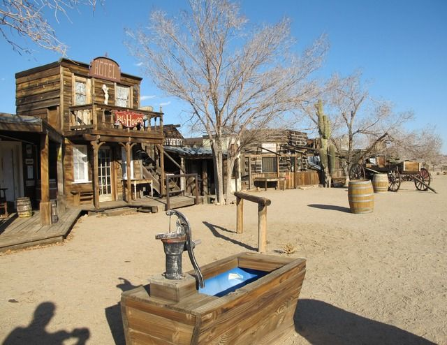 Image detail for -ghost town pioneertown california mojave desert western town wild west ...