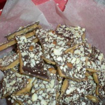 Almond Toffee Crunch - Same recipe I use, and I always get asked to make it.