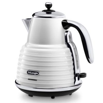 DeLonghi Delonghi 'Scultura' KBZ3001.W white kettle- at Debenhams.com