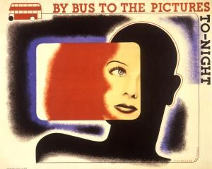 By bus to the pictures tonight