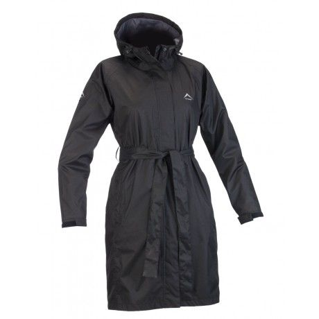K-Way's Austru is a lightweight raincoat with a PU milky coating. Waterproof, windproof and seam sealed, it's lined with mesh for added vapour permeability. Elasticated cuffs and an adjustable hood keep cold air out, ensuring you stay warm and dry. The jacket is packable into the pocket, converting it into a bum bag for easy transport.