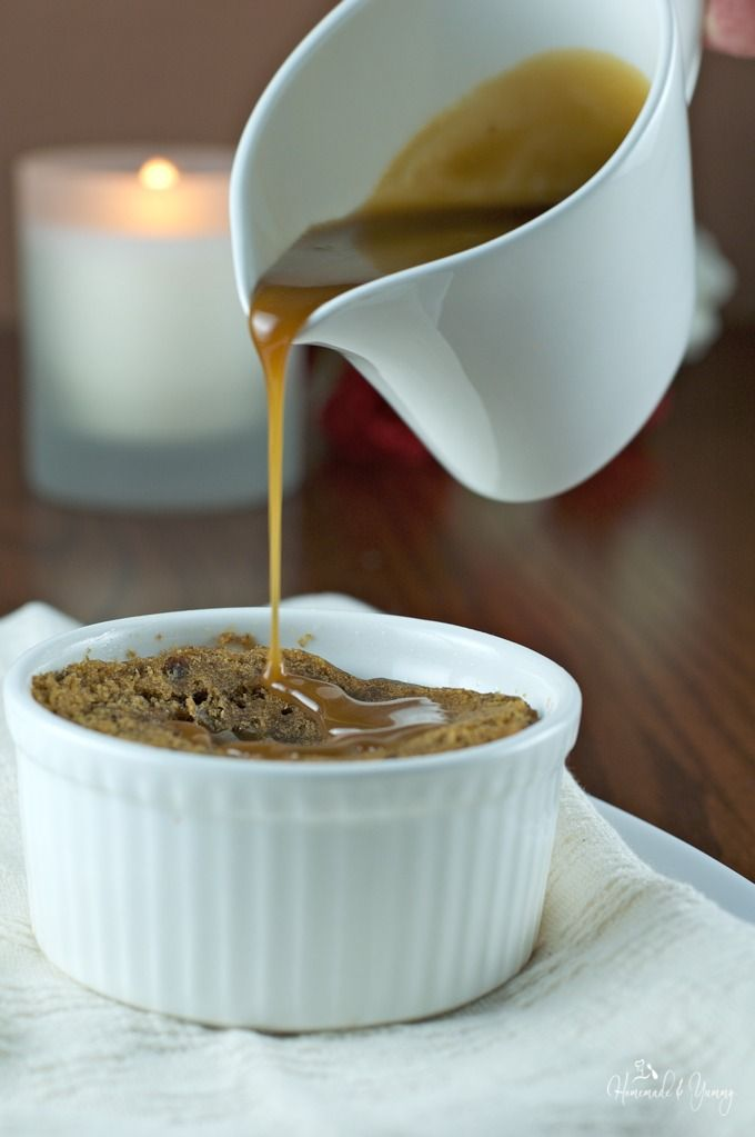 Pressure Cooker Sticky Toffee Pudding