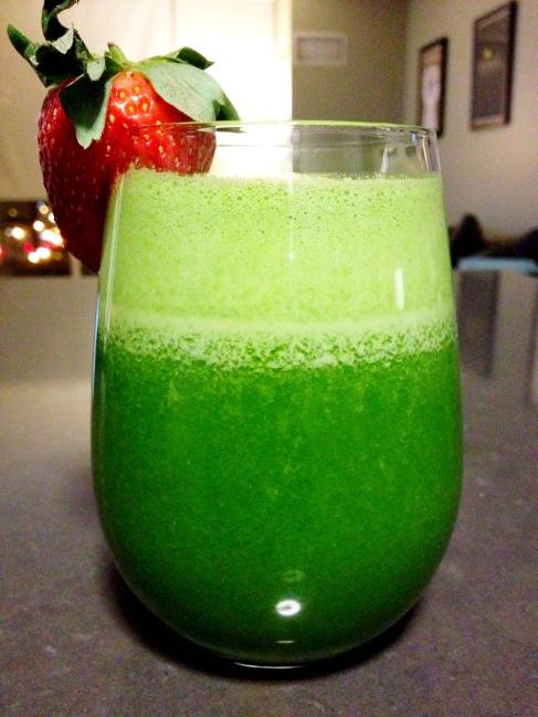 The Green Goddess Juice Recipe