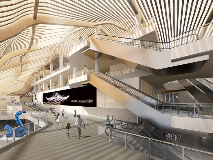 Guggenheim Museum Interior Design
