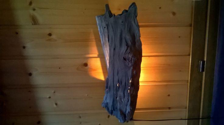 lampe veilleuse murale bois flotté : Luminaires par la-belle-au-bois-flotte-ardeche