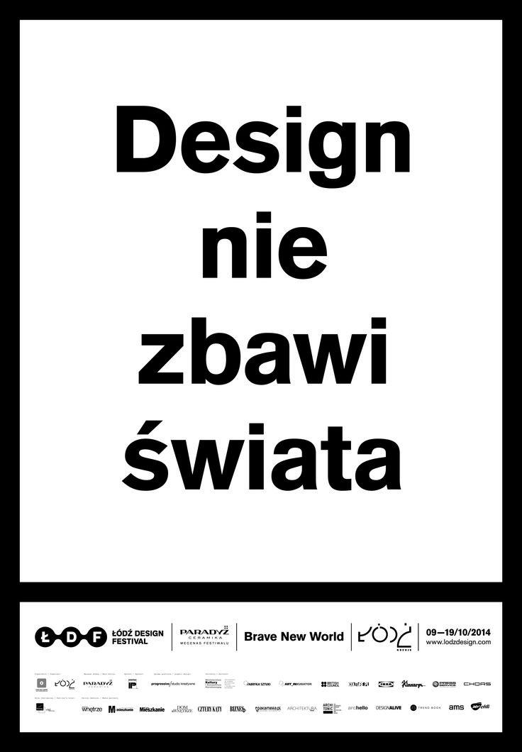Łódź Design Festival 2014 identity: progressivo PSV