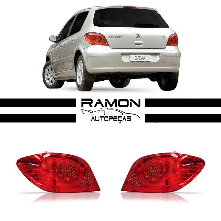 Lanterna Traseira Peugeot 307 2007 2008 2009 2010 2011  #lanterna #traseira #peugeot #307 #car #cars #carros #supercar #auto #automotive #peçasnovas #farol #milha #pisca #parachoque #parabarro #grade #ramon #autopeças #ramonautopeças #bosquedasaúde #sãopaulo #brasil