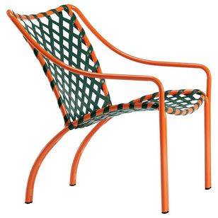 Transitional Outdoor Lounge Chairs by Brown Jordan