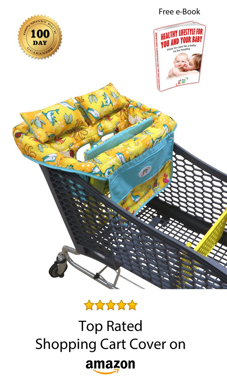 Most comfortable shopping cart cover with 2 pillows, removable cushions, a phone pocket, and much more.. Every customer will now get a FREE e-Book.
