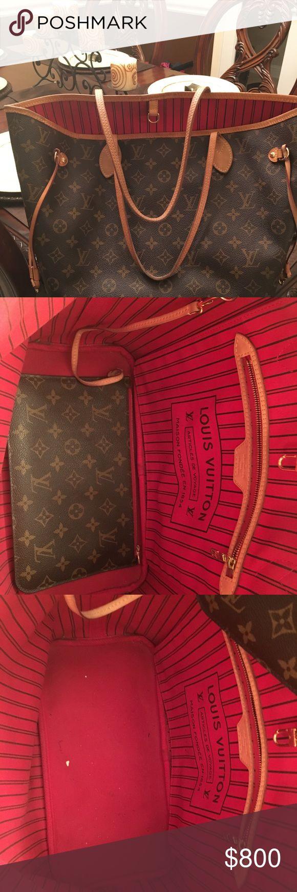 Louis Vuitton Used Louis Vuitton Authentic Louis Vuitton Bags Totes