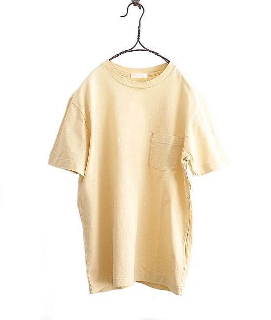 niuhans ボタニカルダイポケットTシャツ(YELLOW) - FLORAISON