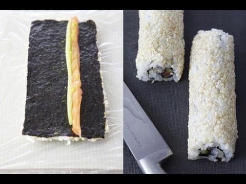 Technique de cuisine : réaliser des makis inversés