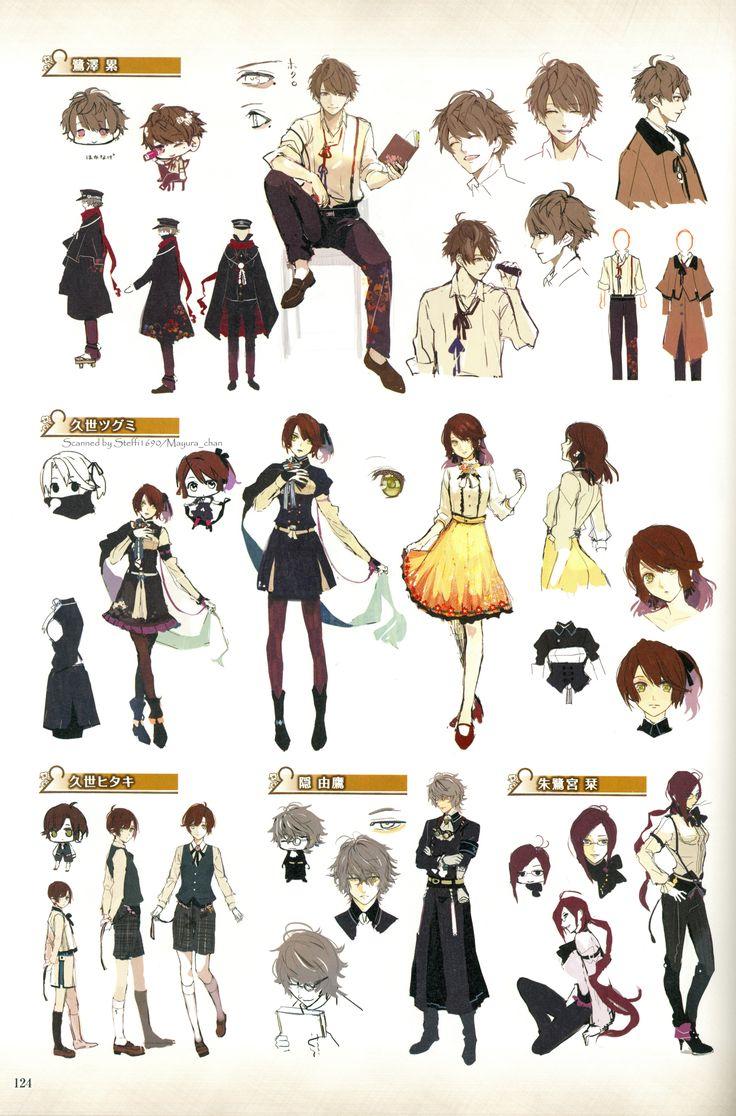 Character Design Zerochan : Nil admirari no tenbin teito genwaku kitan