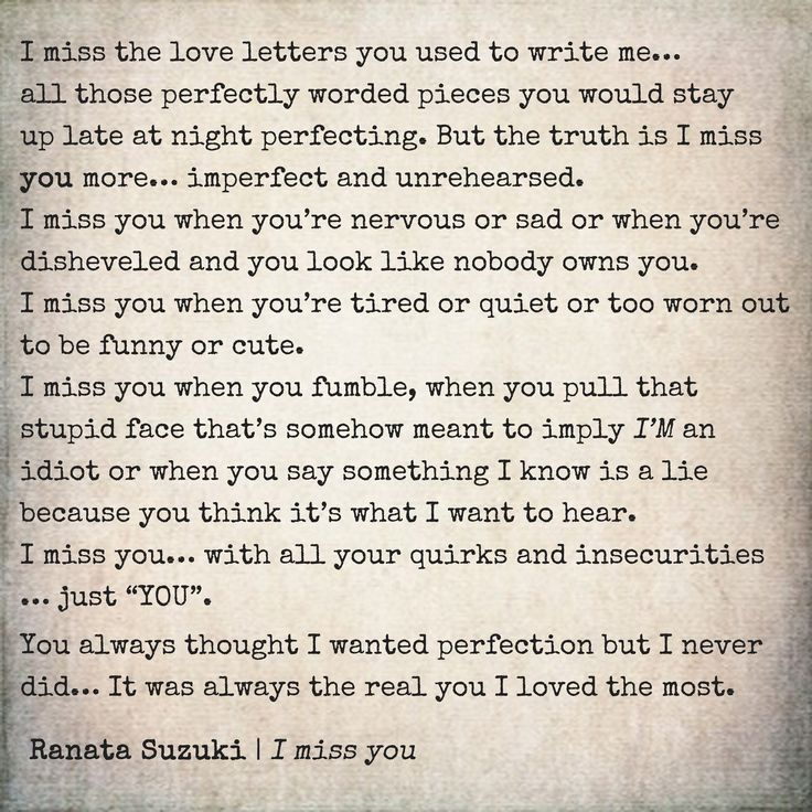 Baby I Miss You Sad Quotes: 25+ Best Ideas About Romantic Letters For Him On Pinterest