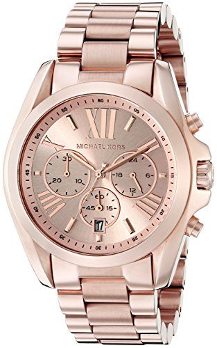 Michael Kors Roman Numeral Watch MK5503 Rose Gold Check https://www.carrywatches.com