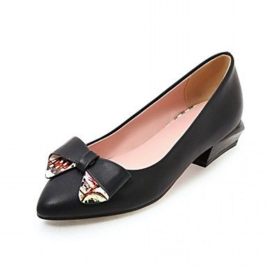 Simple flats to match with any outfit! Plus it has a super cute bow knot! Repin if you also like it!