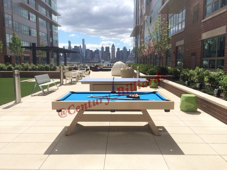 Best 25 outdoor pool table ideas on pinterest cool for Outdoor pool design uk