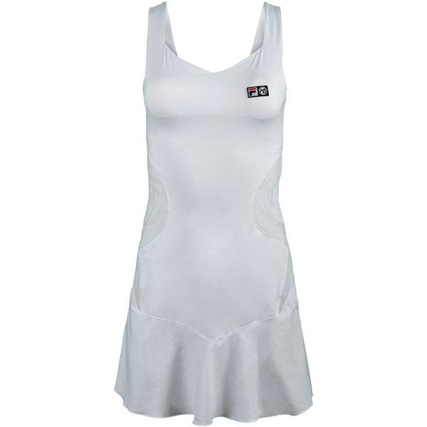 This FILA Women's Marion Bartoli Trophee Dress is a classic and is ready for club play or Wimbledon. It's soft and feminine, yet totally functional with mesh ventilation at the waist. You'll love the sweetheart neckline and the deep v-back in the heat of the summer. Of course, a built-in bra is included so you can lift the trophy high as you win that club championship!