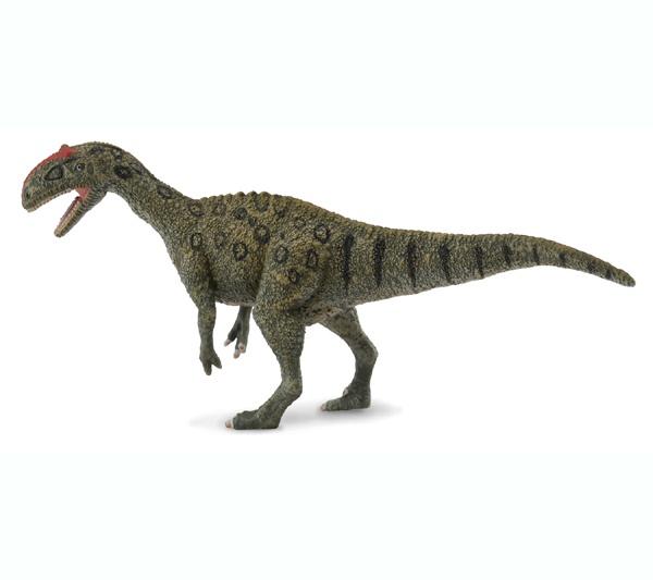 """Lourinhanosaurus - El Lourinhonasaurus era carnívoro terópodo megalosauroide. Su nombre significa """"Lagarto de Lourinha"""". Podía llegar a medir 8 metros de largo. Alto: 5 cm Largo: 13 cm Edad: a partir de 3 años Marca: Collecta Ref. 30288 Precio: 7.00 € IVA incluido"""