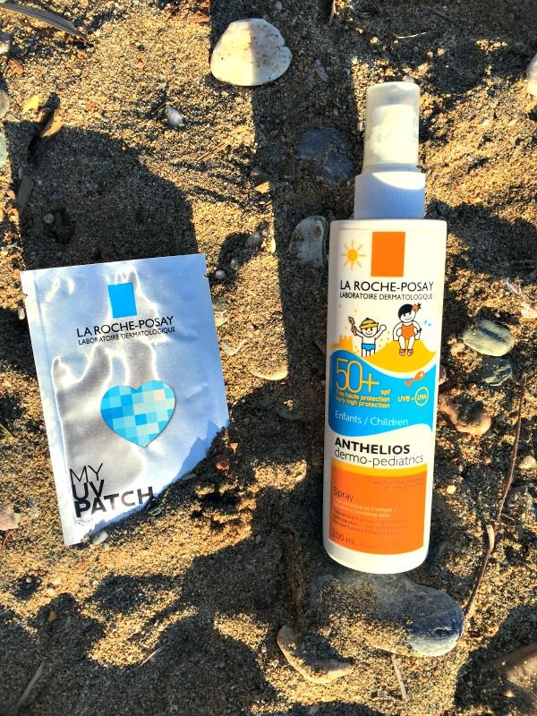 Here's what I've learned by using the La Roche Posay My UV Patch: A product that measures the sun damage and UV exposure and reports the information to an application directly on your phone - Ioanna's Notebook
