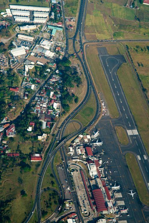 Aereal View - San Jose Intl Airport