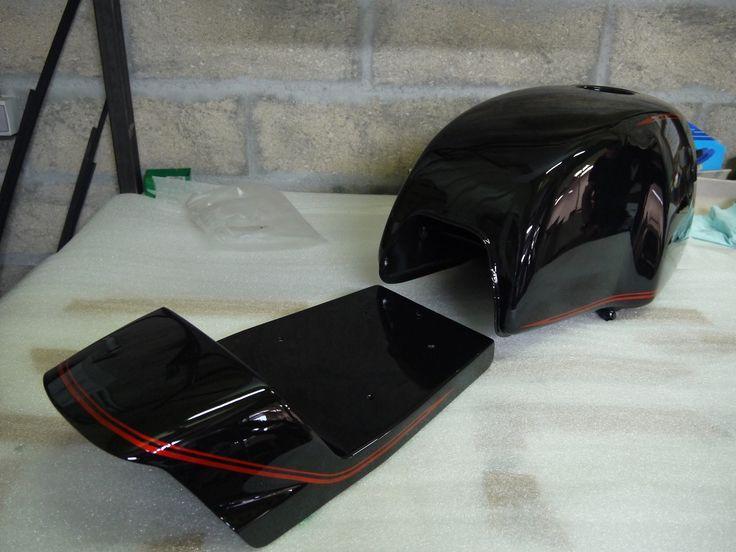 m s de 20 ideas incre bles sobre peinture moto en pinterest custom moto motocicleta de bobber. Black Bedroom Furniture Sets. Home Design Ideas
