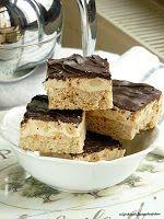 mijn dagelijkse gedachten: PB Nougat Cookie Bars / Мягкое Арахисовое Печенье с Нугой