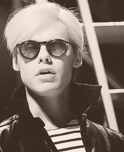 Randy Harrison as Andy Warhol