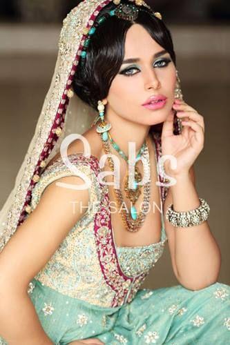 Ayyan Ali Bridal Makeup Shoots for Sabs Salon