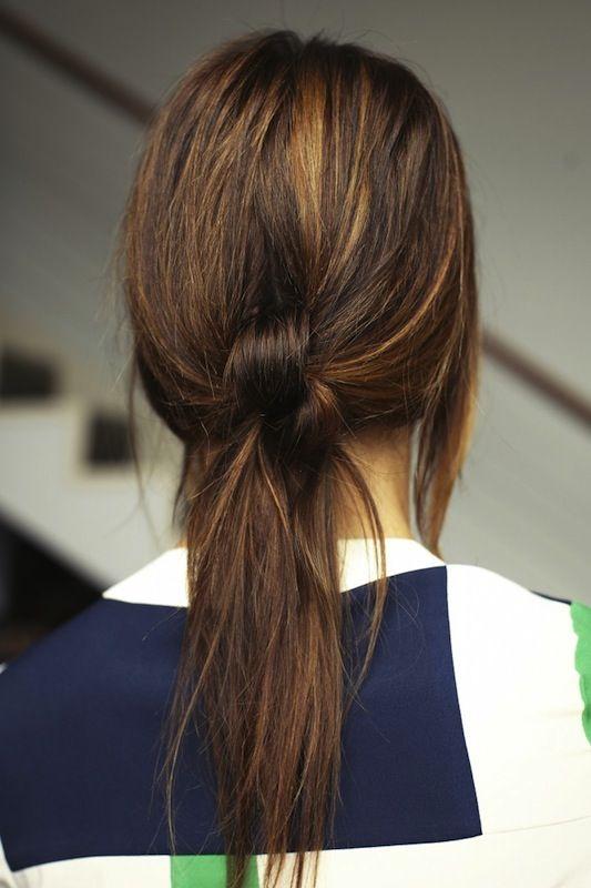 knotty ponytail