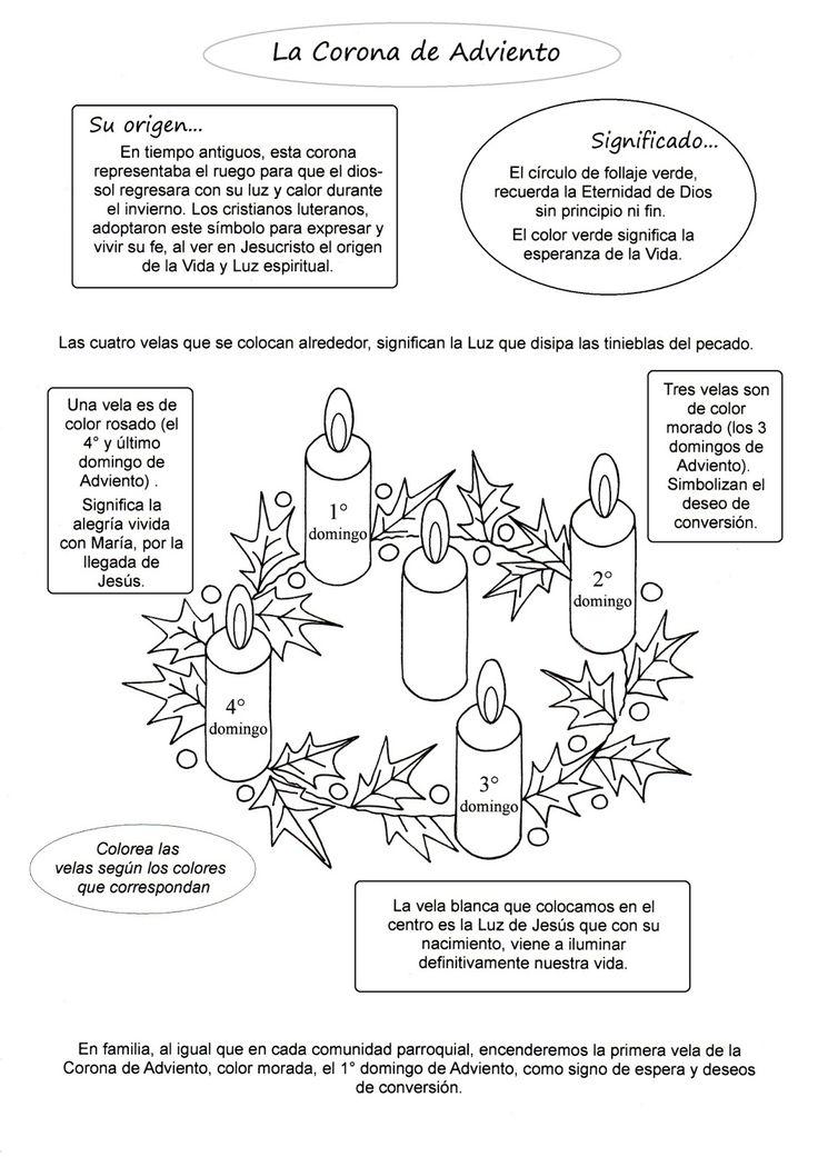 Sencilla explicación de la Corona de Adviento