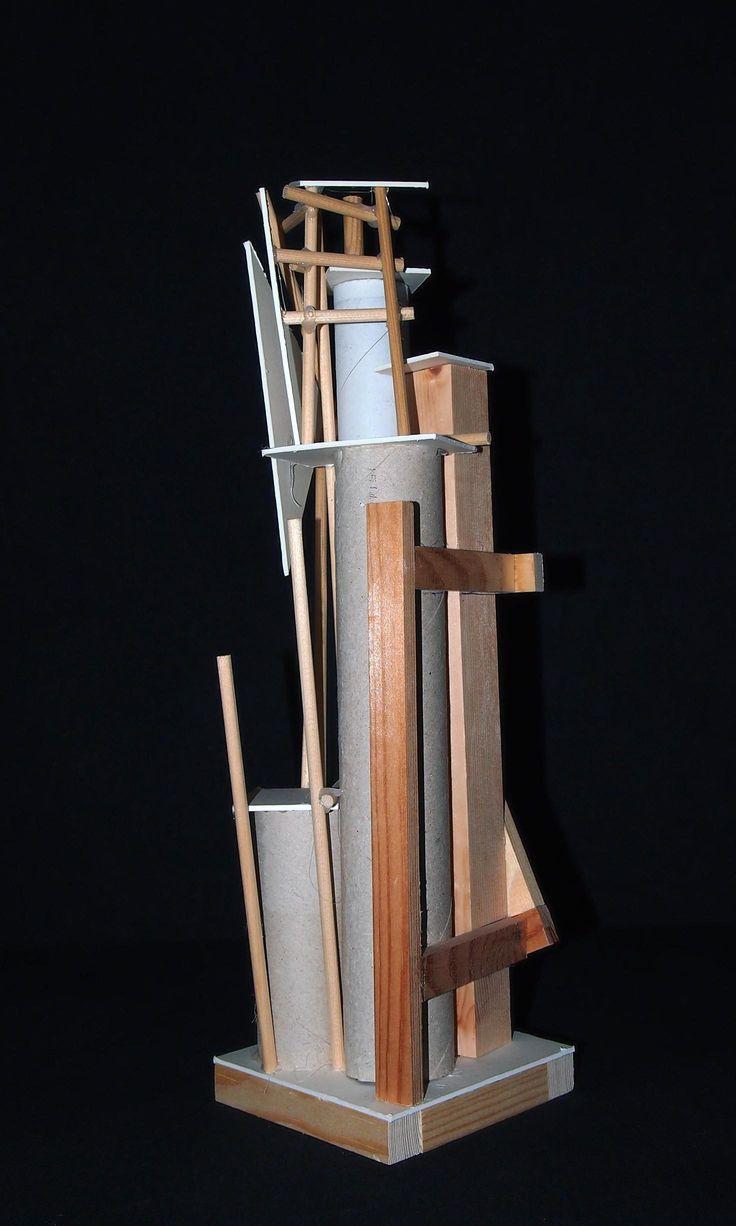 A Graveyard Project Model Sculpture.