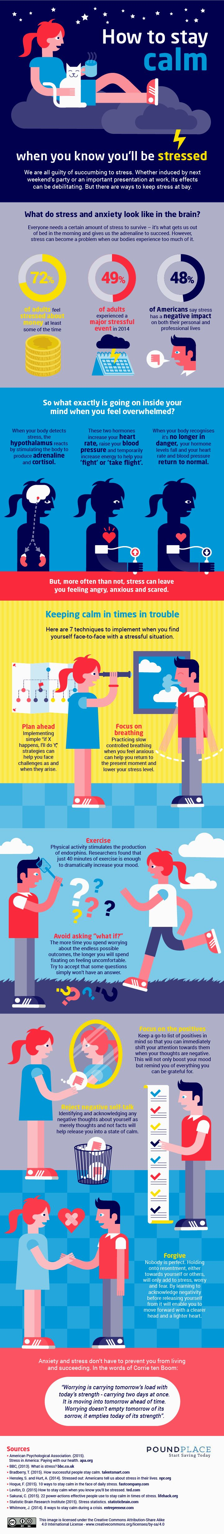 How to Stay Calm Under Pressure [Infographic]  http://blog.hubspot.com/marketing/stay-calm-when-stressed