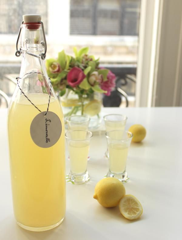 Easy Homemade Limoncello Recipe | Celebrations.com