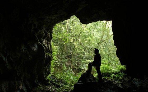 A Caverna de Cercado, na Escarpa Devoniana (Foto: Gupe Divulgação)