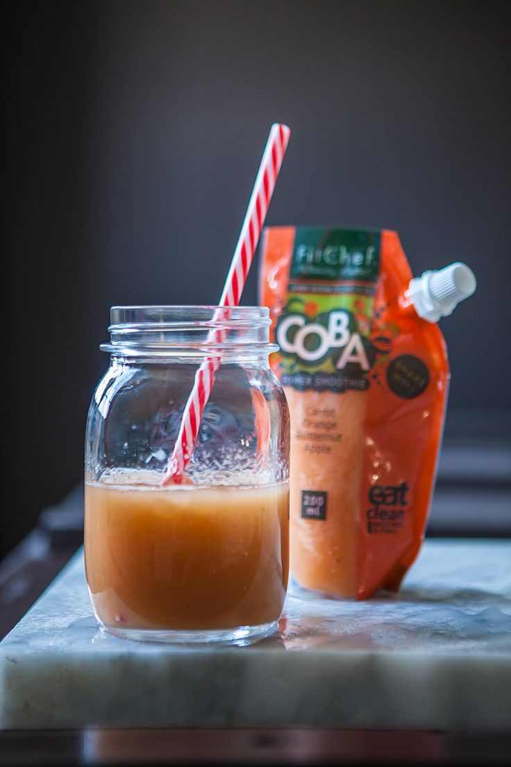 FitChefs COBA smoothie - Carrot, orange, butternut & apple. Order online > https://orders.fitchef.co.za/menu/own-selection