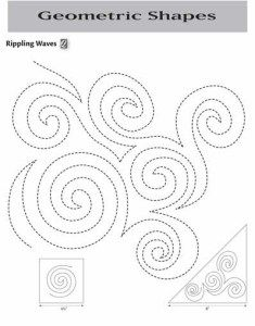 62 best Quilting: Continuous Line Patterns images on